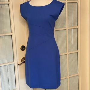 New without tags. Blue form fitting dress